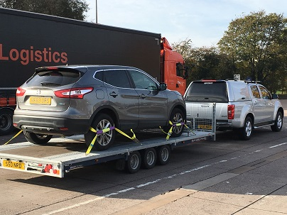 ENDE transported a Nissan Qashqai from Cheltenham to Winsford.