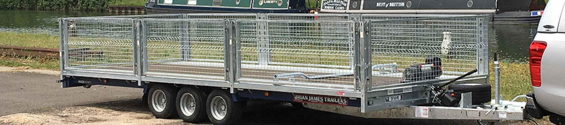 ENDE trailer transporter