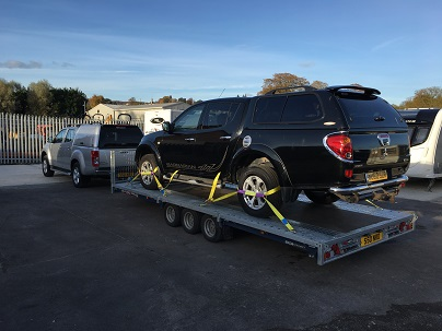 ENDE has just transported a car Transporter from Dursley, Gloucestershire to Enfield, North London.