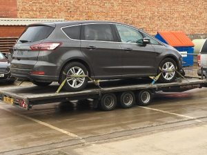 ENDE has just transported a car by trailer from Long Marston, Birmingham to Runcorn, Cheshire