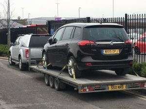 ENDE has just transported a car by trailer from Bristol, Avon to Bracknell, Berkshire.