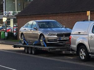 ENDE- the transport by trailer experts, has just transported a car by trailer from Hungerford, Wiltshire to Norfolk .
