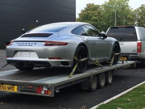 ENDE- the transport by trailer experts, has just transported a car by trailer from Swindon, Wiltshire to London .