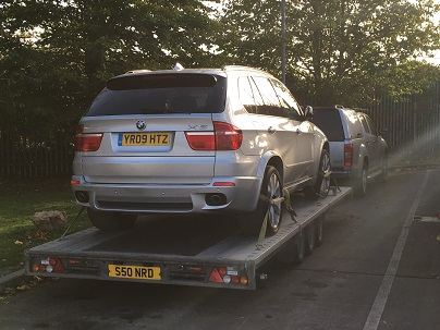 ENDE- the transport by trailer experts, has just transported a car by trailer from Bristol, Avon to Luton, Bedfordshire .