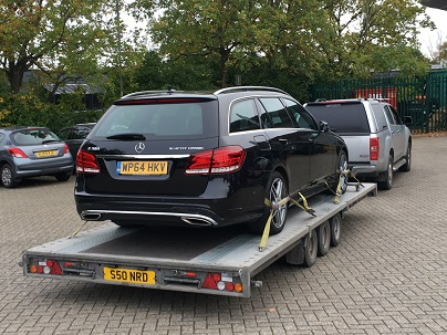 Car Transported by Trailer from Basingstoke, Hampshire to Bristol, Avon.