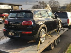 ENDE- the transport by trailer experts, has just transported a car by trailer from Leicester, Leics to Swindon, Wilts.