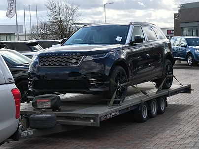 ENDE- the transport by trailer experts, has just transported a car by trailer from Shrewsbury, W Midlands to Melksham, Wiltshire.