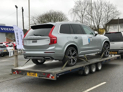 ENDE- the transport by trailer experts, has just transported a car by trailer from Stourbridge, West Midlands to Anglesey, North Wales.